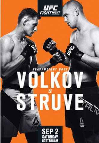 UFC Fight Night: Volkov vs. Struve - Image: UFC Fight Night Rotterdam Struve vs. Volkov