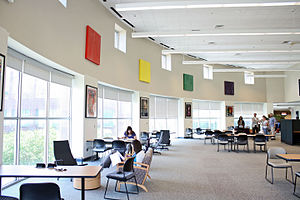 University of Texas at San Antonio Libraries - The Downtown Library located at UTSA's Downtown Campus