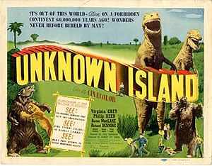 Unknown Island - Film poster