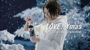 Can't Wait 'Til Christmas - Hikaru Utada in the commercial for Pepsi Nex