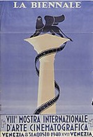 8th Venice International Film Festival (1940) - Festival poster