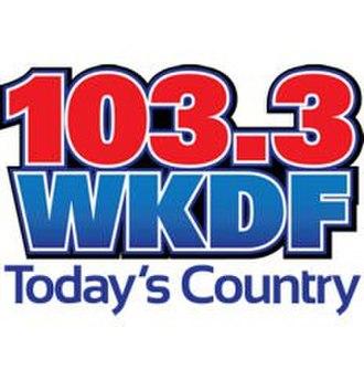 WKDF - WKDF logo, 2012-2014, before switching to Nash FM