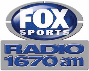 WMGE (AM) - Image: WPLA Fox Sports 1670 logo