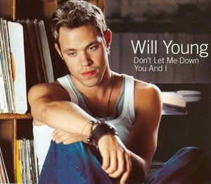 Don't Let Me Down (Will Young song) - Image: WYDLMD1