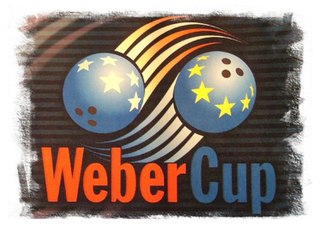 Weber Cup Mens bowling competition between Europe and the United States