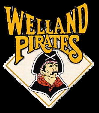 Erie SeaWolves - Image: Welland Pirates