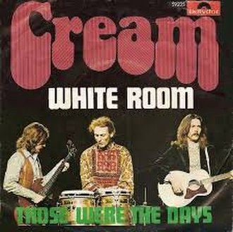 White Room - Image: White Room Cream (Norwegian single sleeve)