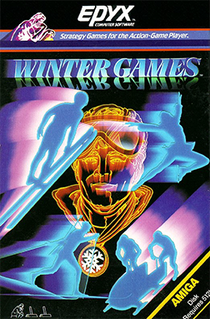 <i>Winter Games</i> 1986 sports video game