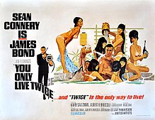 You Only Live Twice 1967 movie