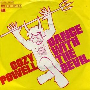"""Dance with the Devil (instrumental) - Image: """"Cozy Powell Dance with the Devil"""""""