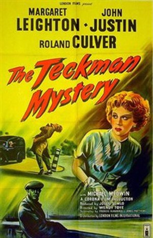 The Teckman Mystery - British theatrical poster