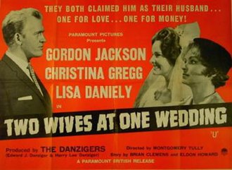 """Two Wives at One Wedding - Image: """"Two Wives at One Wedding"""" (1961)"""