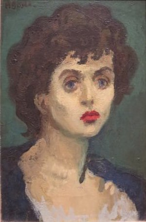 Moses Soyer - Untitled painting by Moses Soyer, Honolulu Museum of Art