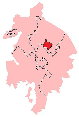 Coventry (UK Parliament constituency) - Image: 1885 1918 Coventry