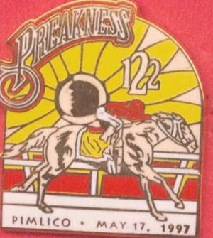 1997 Preakness Stakes - Image: 1997 Preakness Logo