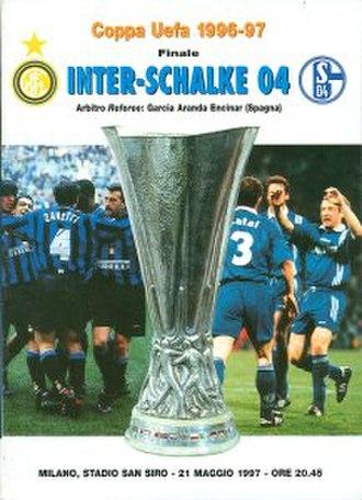 1997 UEFA Cup Final - Image: 1997 UEFA Cup Final programme