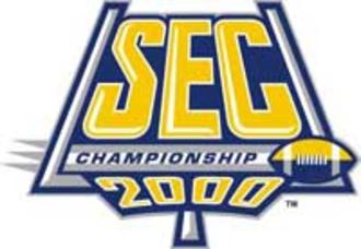 2000 SEC Championship Game - 2000 SEC Championship logo.