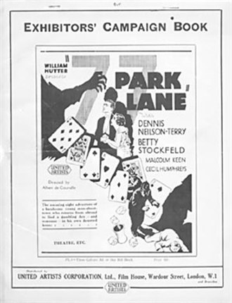 77 Park Lane - Campaign book cover