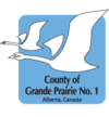 Official logo of County of Grande Prairie No. 1