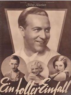 <i>A Mad Idea</i> 1932 film by Kurt Gerron