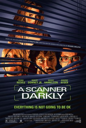 A Scanner Darkly (film) - Theatrical release poster