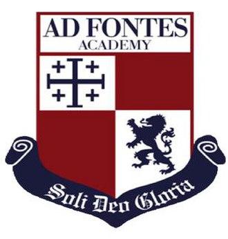 Ad Fontes Academy - Image: Ad Fontes Academy logo