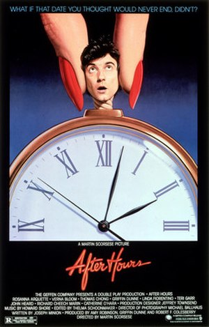 After Hours (film) - Theatrical release poster
