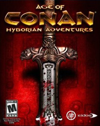 Age of Conan - North American cover