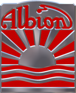 Albion badge.