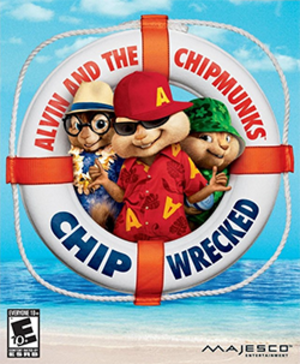 Alvin and the Chipmunks: Chipwrecked - Image: Alvin and the Chipmunks Chipwrecked Coverart