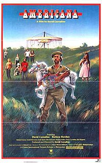<i>Americana</i> (film) 1983 American drama film directed by David Carradine
