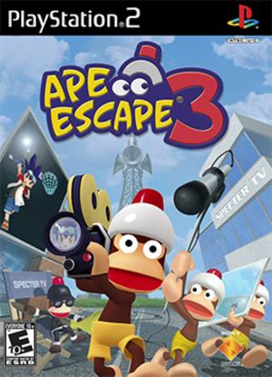 Ape Escape 3 - Image: Ape Escape 3 Coverart