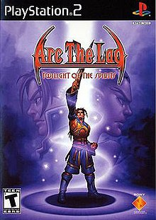 Arc the Lad; Twilight of the Spirits English cover.jpg