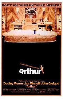 <i>Arthur</i> (1981 film) 1981 comedy film directed by Steve Gordon