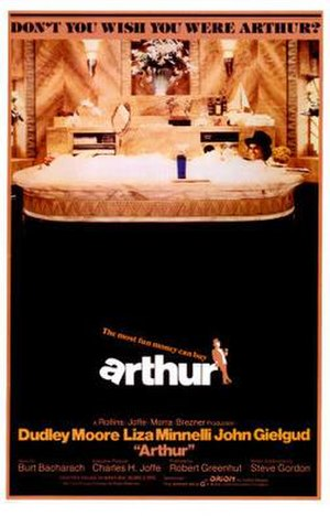 Arthur (1981 film) - Theatrical release poster