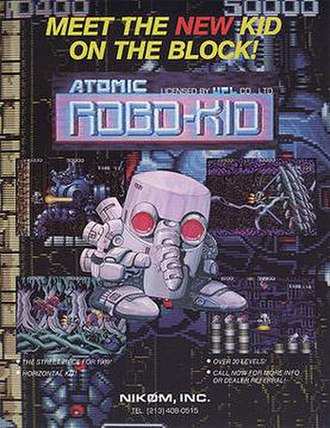 Atomic Robo-Kid - Promotional flyer for Atomic Robo-Kid