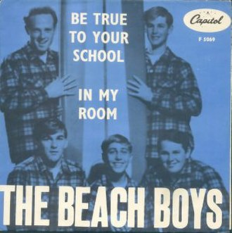 Be True to Your School - Image: Beach Boys Be True To Your School