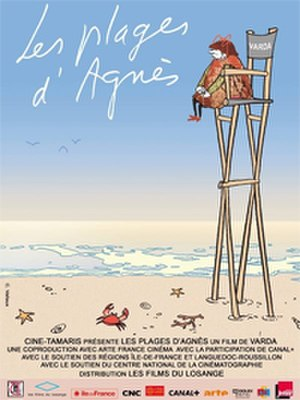 The Beaches of Agnès - Theatrical release poster