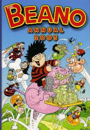 The Beano Annual - The cover of the Beano Annual 2005