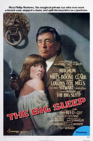 The Big Sleep (1978 film) - Theatrical release poster