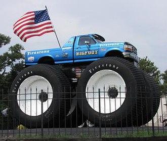 Bigfoot (truck) - Bigfoot 5 outside company headquarters in Missouri