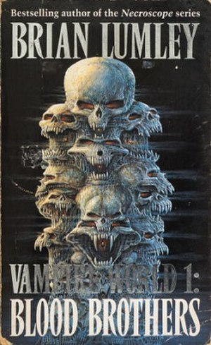 Blood Brothers (Lumley novel) - Cover of the first edition