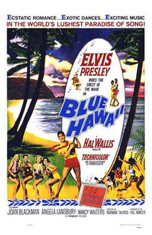 Blue Hawaii - Image: Blue hawaii poster