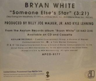 Someone Else's Star - Image: Bryan White Someone Elses Star