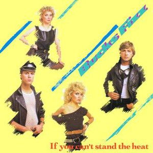 If You Can't Stand the Heat (song) - Image: Bucks Fizz if you can't 2