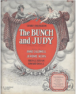 <i>The Bunch and Judy</i> musical