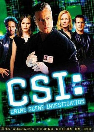CSI: Crime Scene Investigation (season 2) - Season 2 U.S. DVD cover