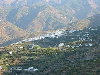 Canillas de Albaida - View of Canillas de Albaida