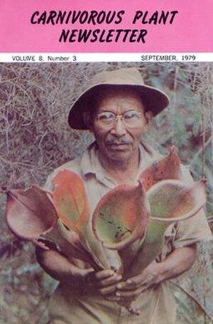 Carnivorous Plant Newsletter - Image: Carnivorous Plant Newsletter