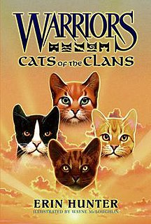 <i>Cats of the Clans</i> book by Erin Hunter